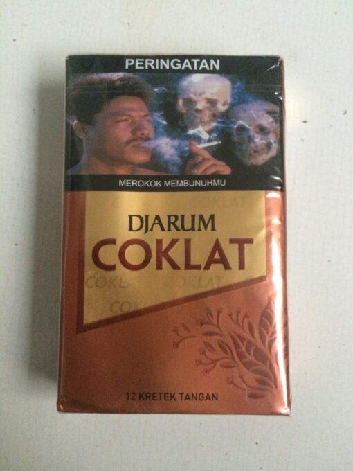 djarum coklat clove cigarettes