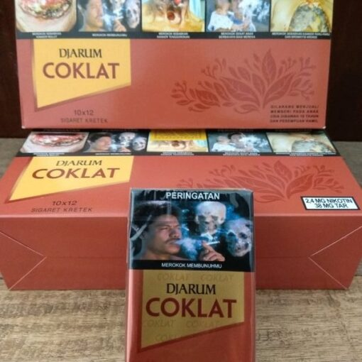 djarum coklat clove cigarettes carton