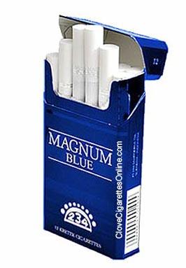 dji sam soe magnum blue clove cigarettes