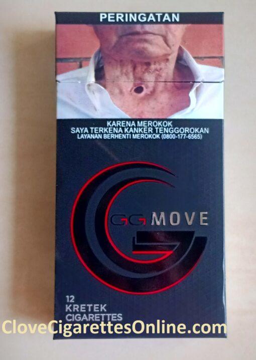 Gudang Garam MOVE clove cigarettes