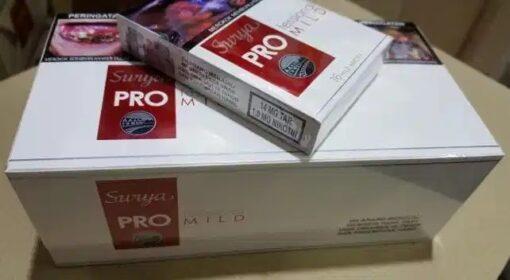 gudanggaram surya pro mild clove cigarettes carton 2