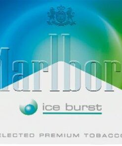 marlboro ice burst indonesia cigarettes logo
