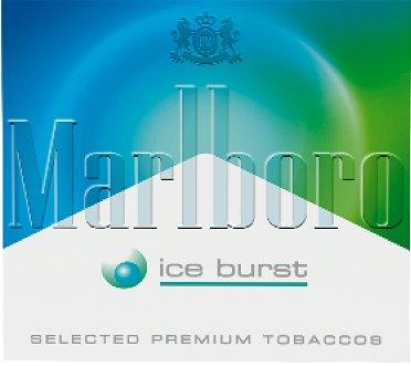 marlboro ice burst indonesia cigarettes logo