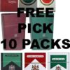 Mix 10 packs in 1 carton