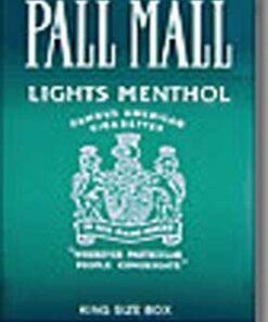 Pall Mall Lights Menthol